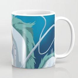 Minimalistic Spirited Away Chihiro and Haku Coffee Mug