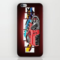 honda iPhone & iPod Skins featuring Honda fit by Xr1s
