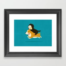 Like the Wind Framed Art Print