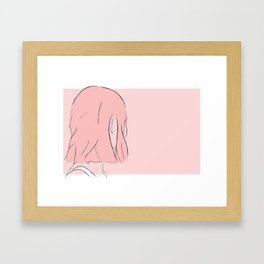 on and on Framed Art Print