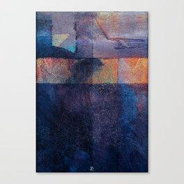 strip to threshold Canvas Print