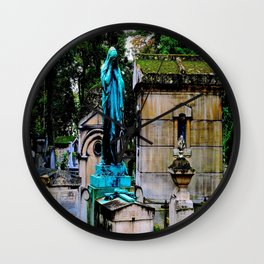The Lady Weeps Wall Clock