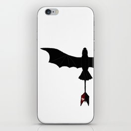 Black Toothless iPhone Skin