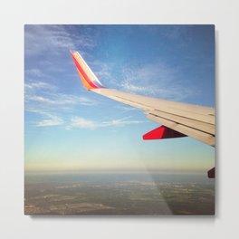 Flying the Friendly Sky Metal Print