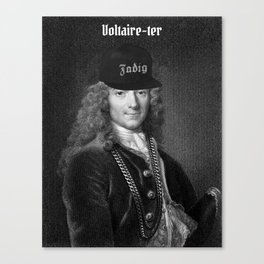 Voltaire-ter Canvas Print