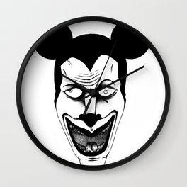 Maniac Mickey Wall Clock