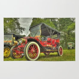 Stanley Steam Car Rug
