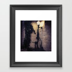 Street Lamp Framed Art Print