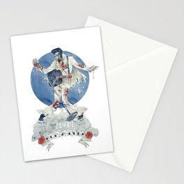 Zombie bop-a-lula Stationery Cards