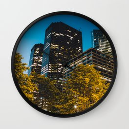 Chicago - Mecca of the Midwest IV Wall Clock
