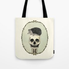 Yojik On A Skull Tote Bag