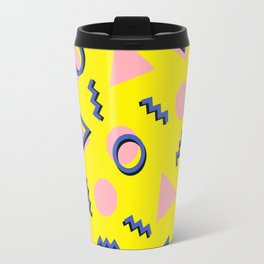 Memphis pattern 62 Travel Mug