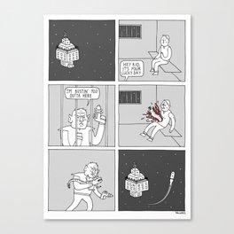 Moonbeard - Spacejailbreak Canvas Print