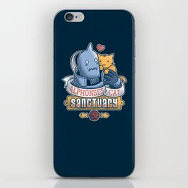 Alphonse's Cat Sanctuary iPhone Skin