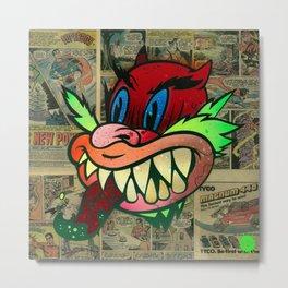 Wily Devil Metal Print