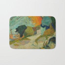 Paul Gauguin - Washerwomen in Arles (1888) Bath Mat