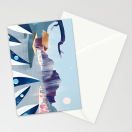 Polar Fish Stationery Cards