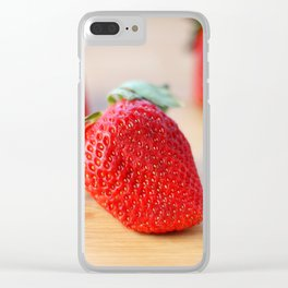 Fresh Strawberries 2018 Clear iPhone Case