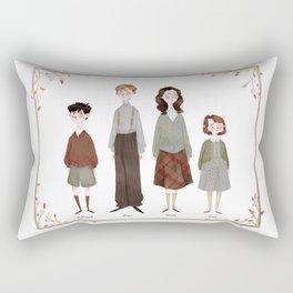 The Pevensies Rectangular Pillow
