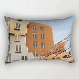 The Ray and Maria Stata Center Rectangular Pillow