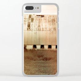 Michigan Barn Clear iPhone Case