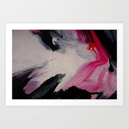 Wet paint 5 Art Print