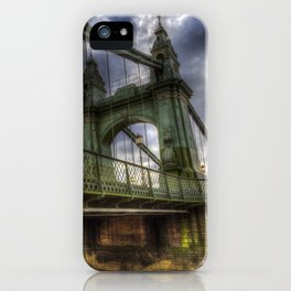 Hammersmith Bridge London iPhone Case