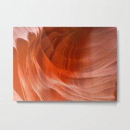 Waves in Antelope Canyon Metal Print