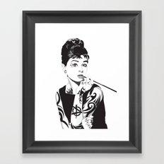 Audrey 2.5 Framed Art Print