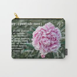 Peony by Definition Carry-All Pouch