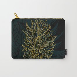 Nested in Gold Carry-All Pouch