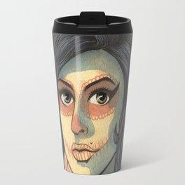 Winehouse Amy in Catrina Travel Mug