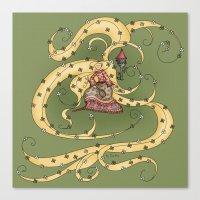 rapunzel Canvas Prints featuring Rapunzel by Catru