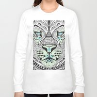 kit king Long Sleeve T-shirts featuring Kit Mambo by eos vector