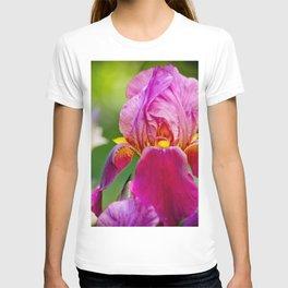 Hot Pink Iris T-shirt