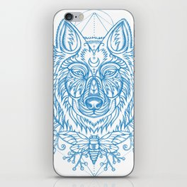 Wolf & cicada iPhone Skin