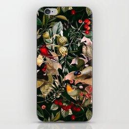 Floral and Birds XXV iPhone Skin