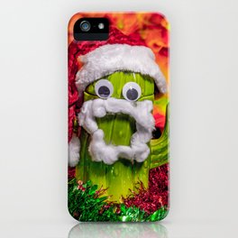Chester the Christmas Cactus iPhone Case