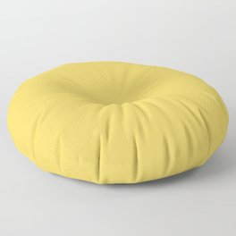 Primrose Yellow | Pantone Fashion Color Spring : Summer 2017 | Solid Color | Floor Pillow