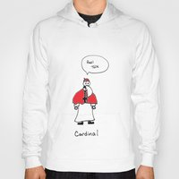cardinal Hoodies featuring Cardinal by Clifford Allen