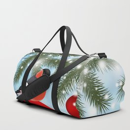 Christmas or New Year decoration Duffle Bag