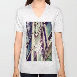 Metal Reflections Unisex V-Neck