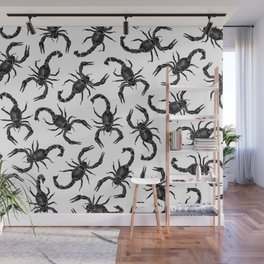 Scorpion Swarm Wall Mural
