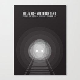 Filligar Subterranean (Alien Train) Canvas Print
