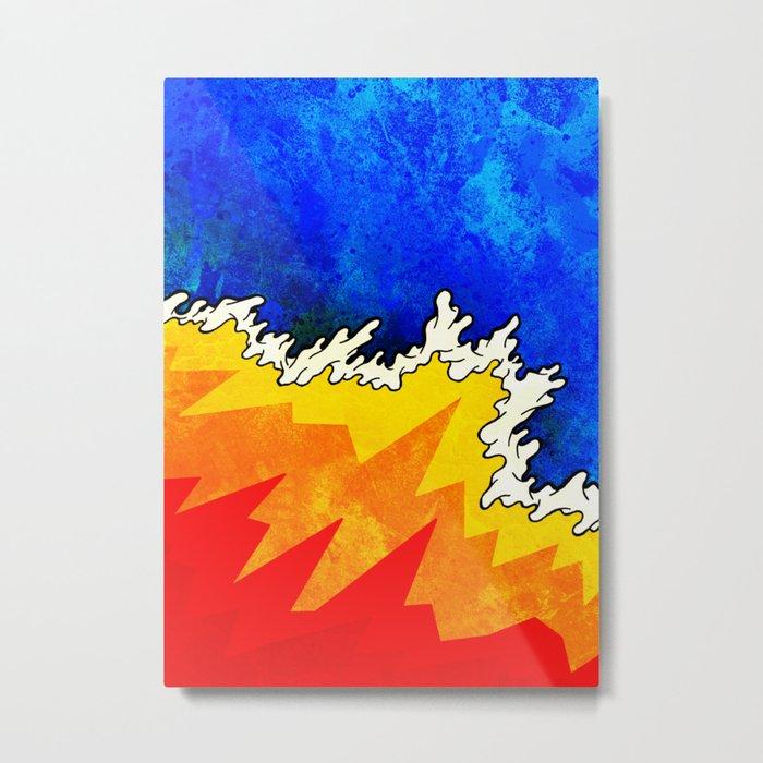 Heat Wave Metal Print