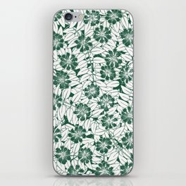 Foliage green iPhone Skin