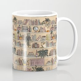 Library Print Coffee Mug