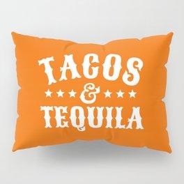 Tacos & Tequila (Orange) Pillow Sham