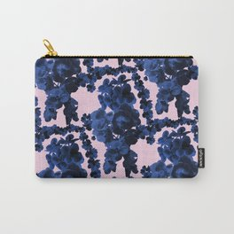 Orchid Print Carry-All Pouch