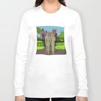 "broadway Long Sleeve T-shirts featuring ""Tourists on Broadway"" 2013 a.correia by correia creative"